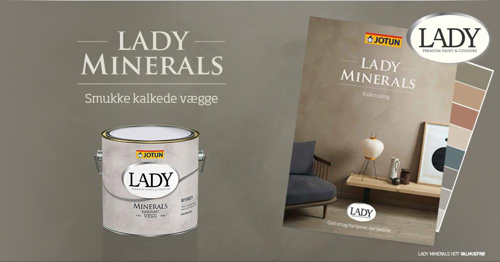 Lady Minerals Kalkmaling